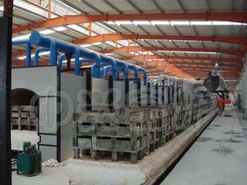 氧化铝粉高温隧道窑