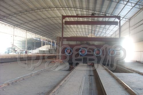 煤矸石砖瓦隧道窑