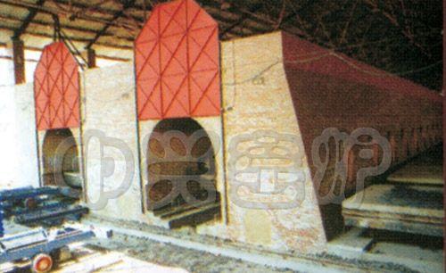 双通道砖瓦隧道窑