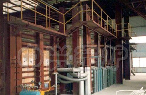 催化剂高温熔化窑