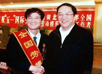 俞正声主席接见集团董事长