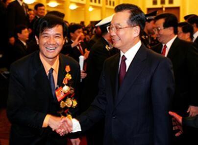 温家宝总理接见集团公司董事长